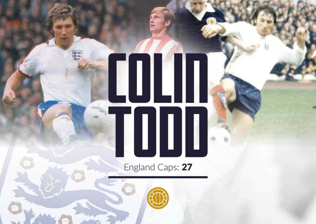 World Cup with Colin Todd