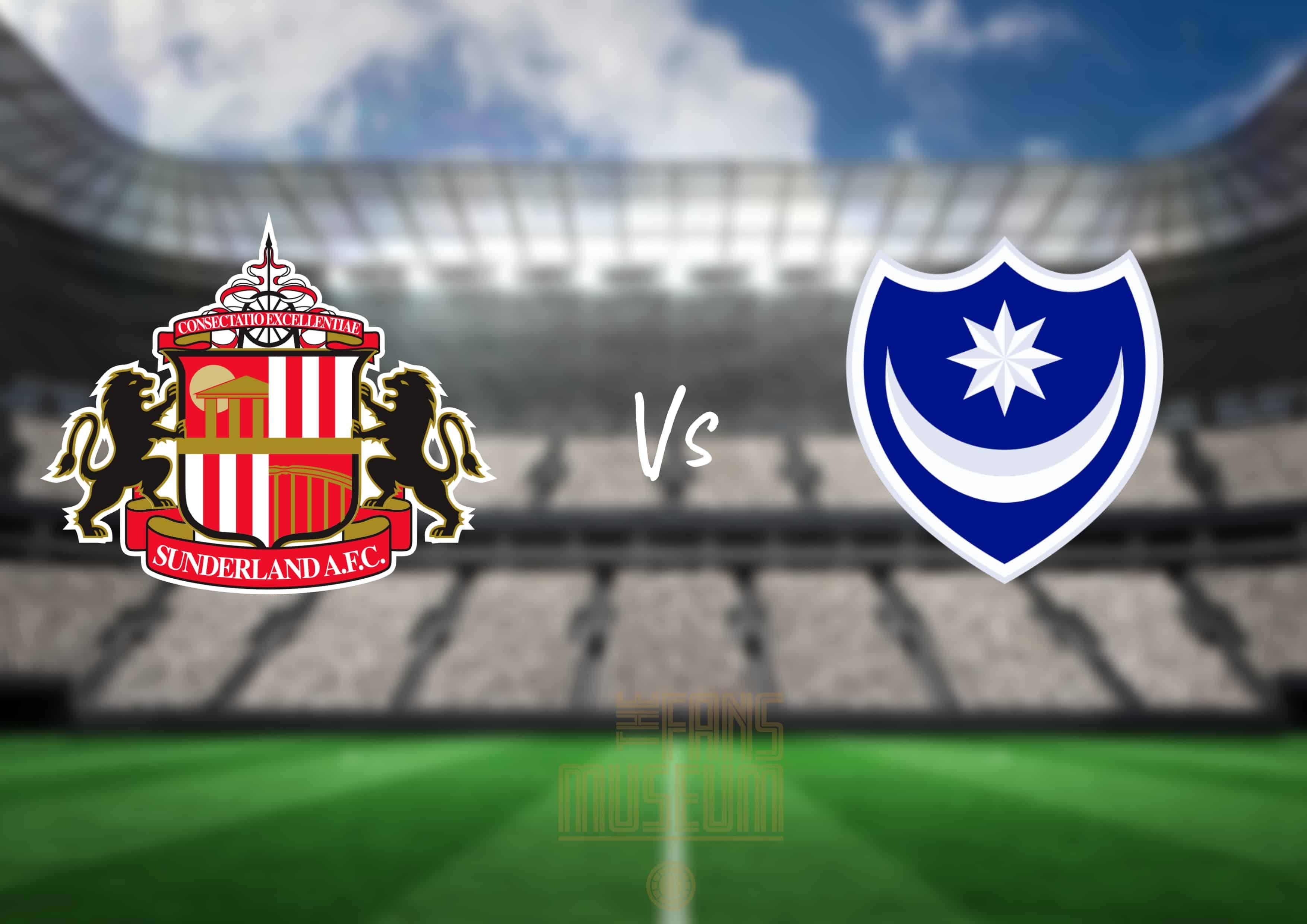 SAFC v Portsmouth
