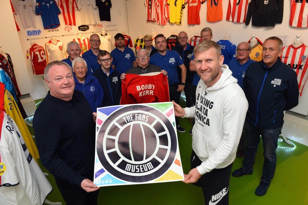 Tony Jeffries named as ambassador for the Fans Museum