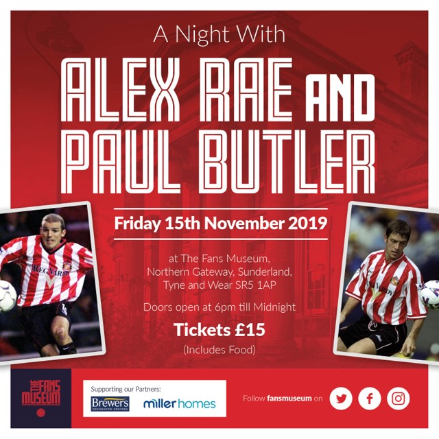 A Night with Alex Rae & Paul Butler