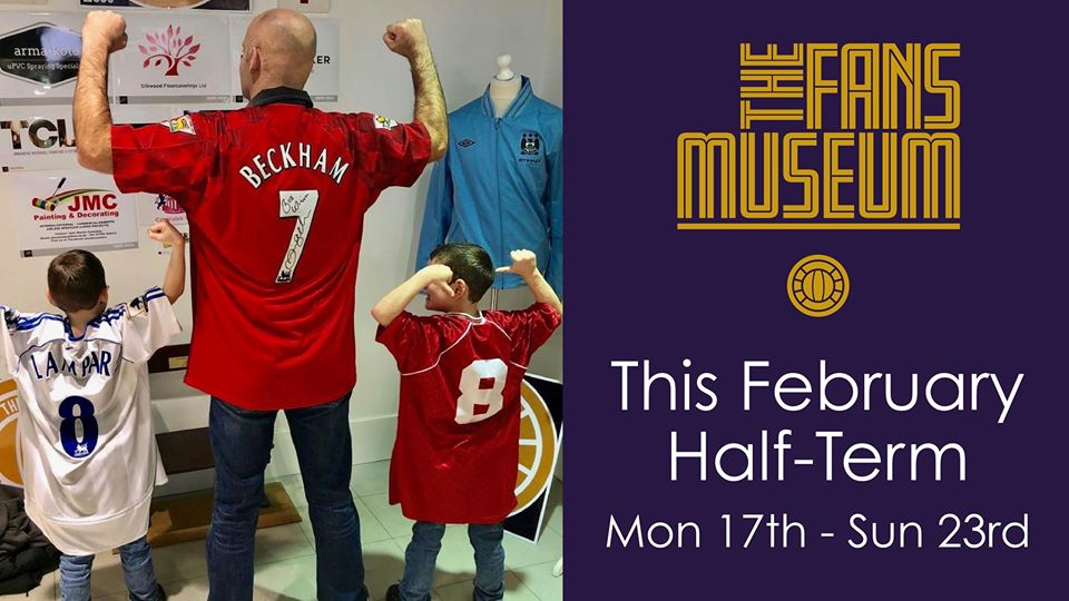 Fans Museum visits Prince Bishops Shopping Centre
