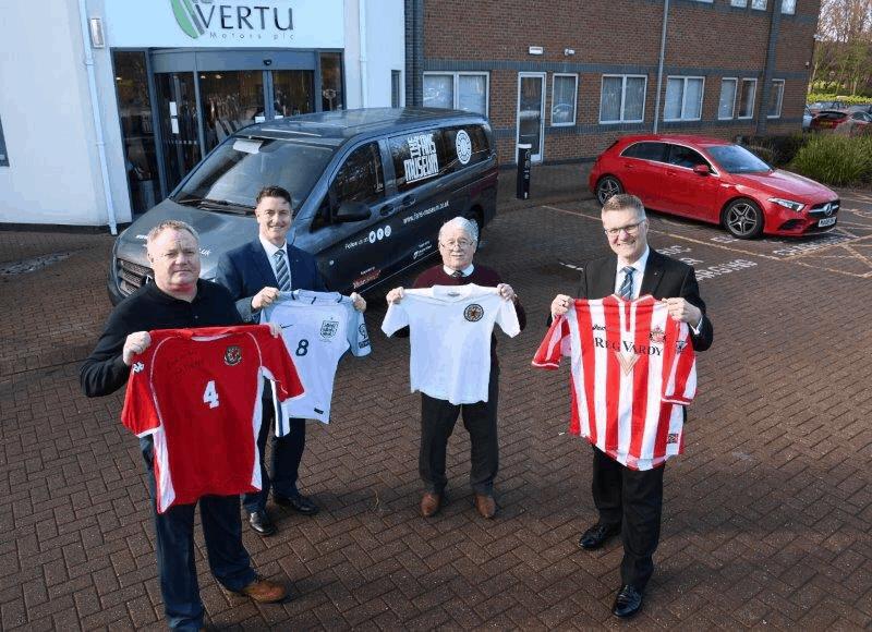 Fans Museum meet Robert Forrester CEO of Vertu Motors