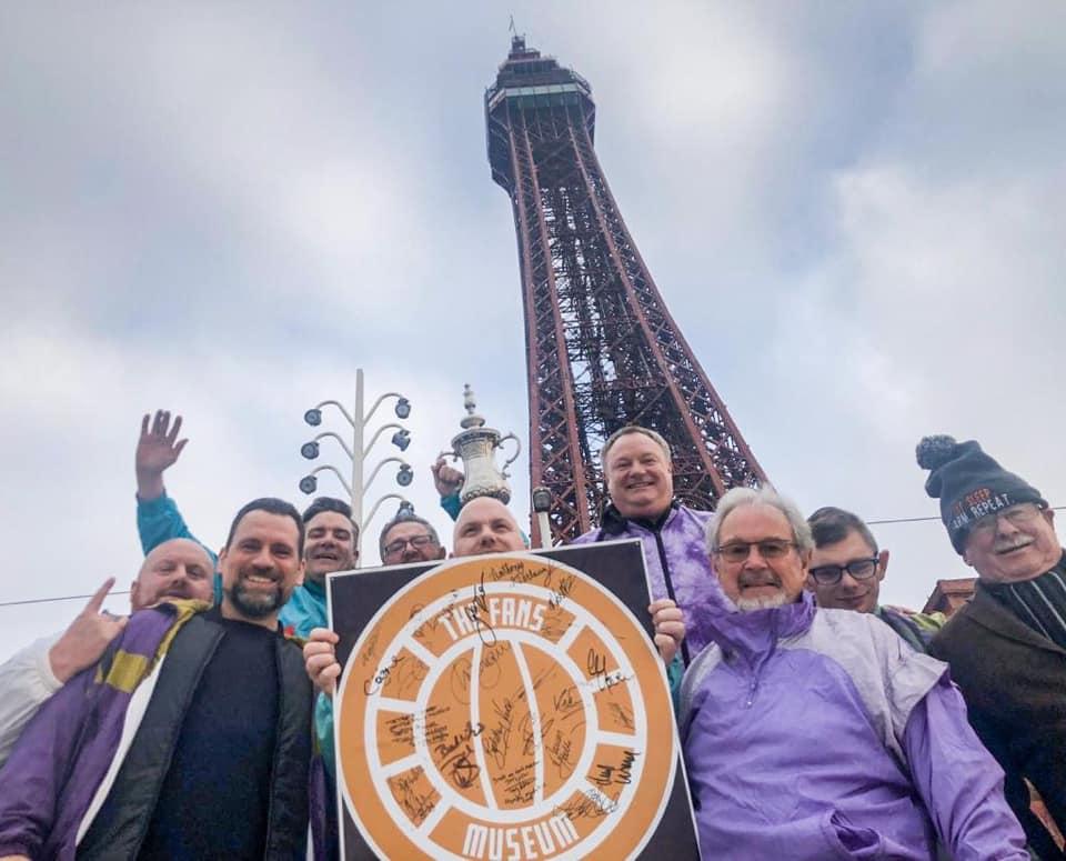 Fans Museum Visits Blackpool