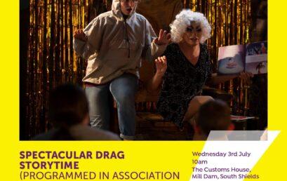 Spectacular Drag Storytime at Fans Museum