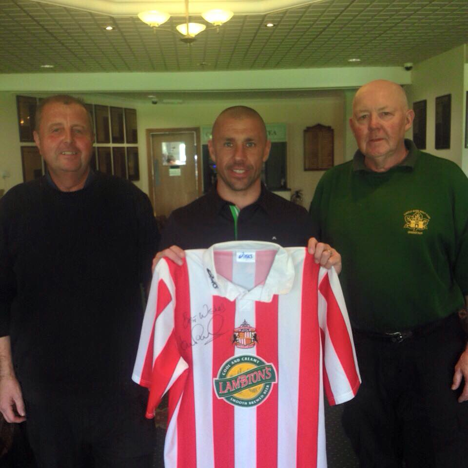 Fans Museum Goes Golfing with Kevin Phillips