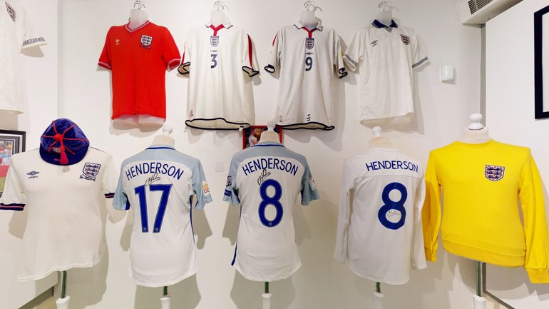 England at the Fans Museum