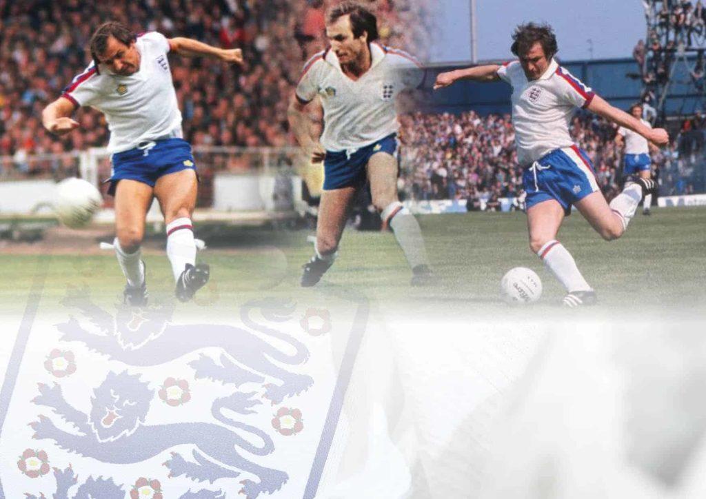 Dennis Tueart – England v Tunisia