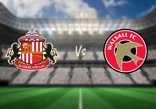 Sunderland v Walsall at Fans Museum